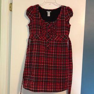 dELiA*s Plaid Dress
